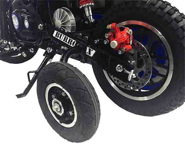 Training Wheels Accessory Kit for TT series Burromax Minibike Models