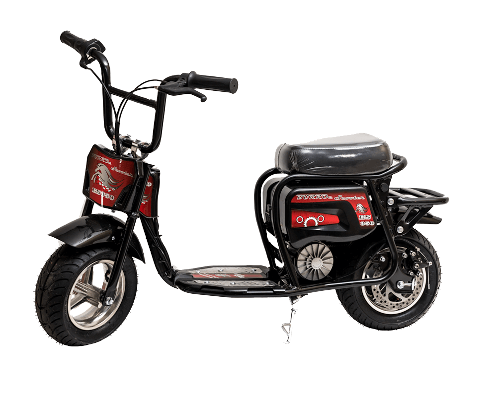 Electric Minibike, ES350 (Color: Black)