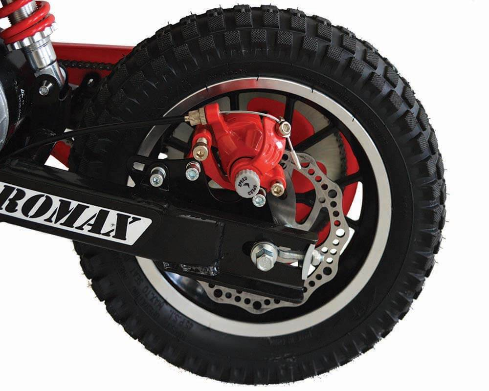 Electric Minibike, TT250 (Color: Red) - 2