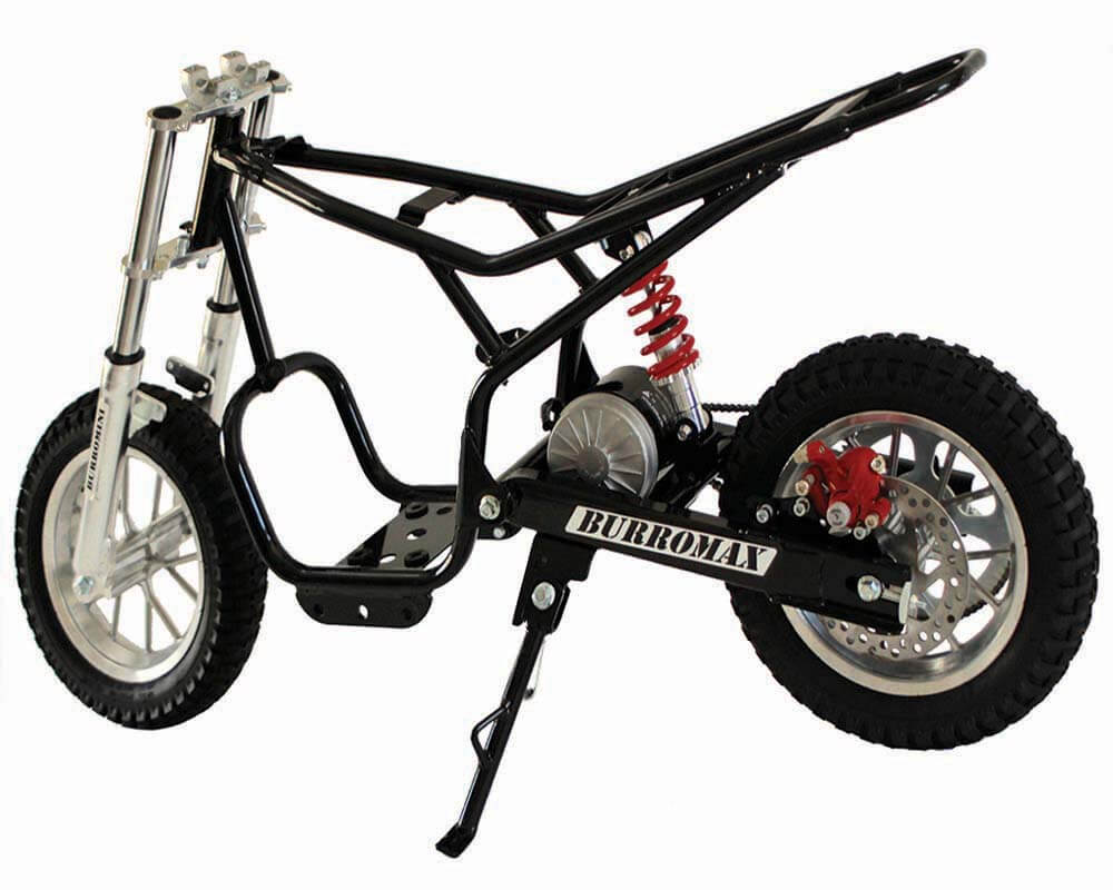burromax electric minibike tt250 white. Black Bedroom Furniture Sets. Home Design Ideas