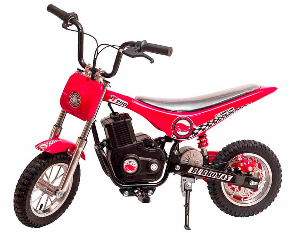 Electric Minibike, TT250 (Color: Red)