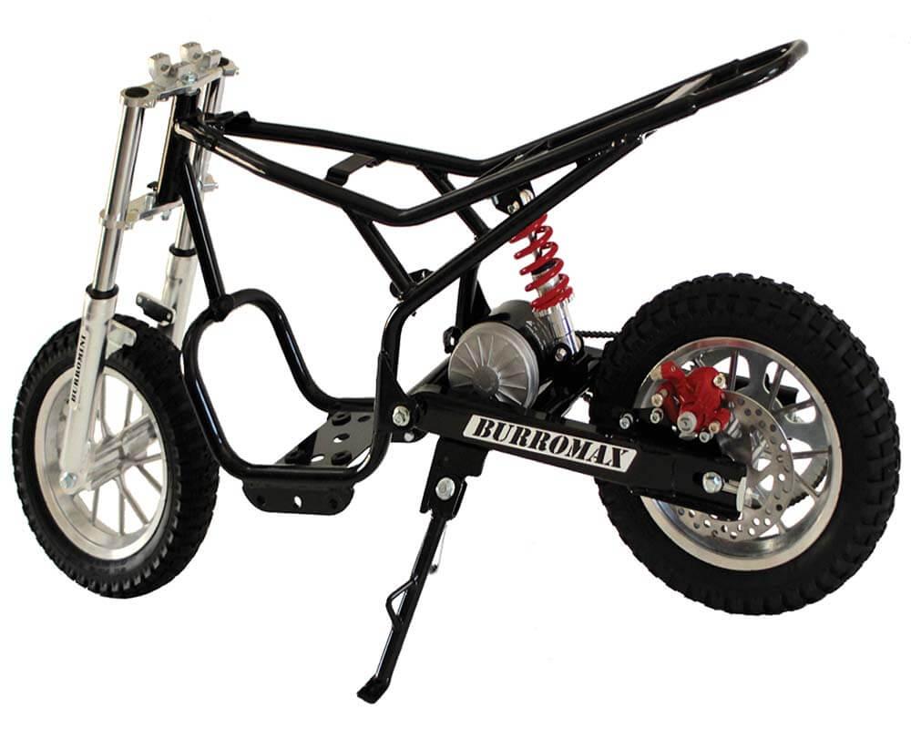 Electric Mini bike, TT350R Lithium Ion Powered, (Color: White) - 8