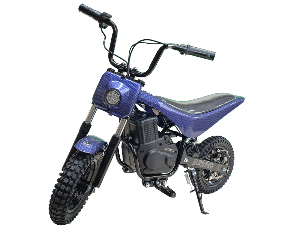 Electric Minibike, TT350R Lithium Ion Powered, (Color: Blue) - 1
