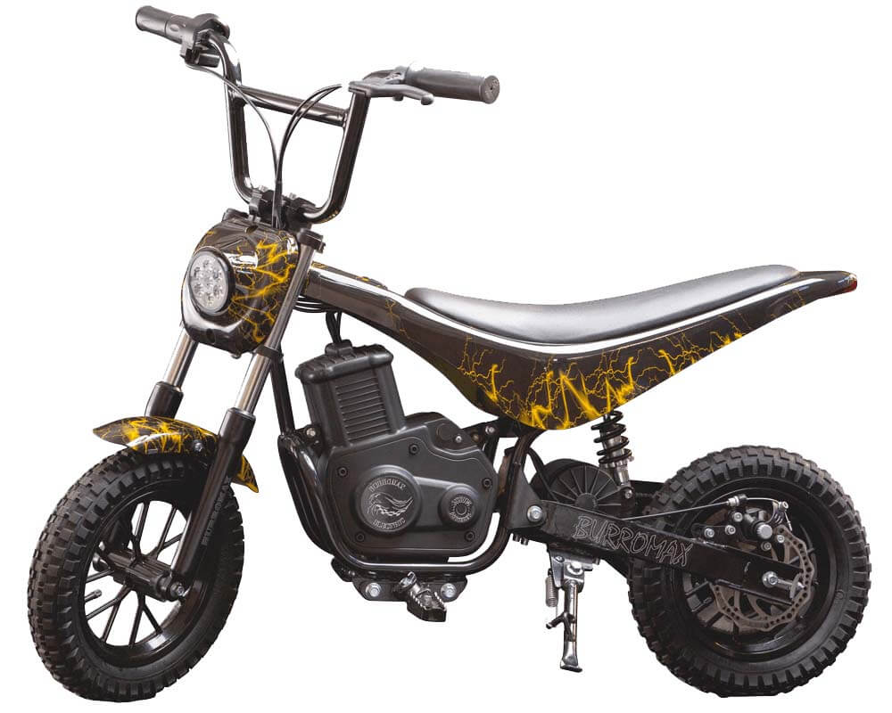Electric Mini bike, TT350R Lithium Ion Powered, (Color: Yellow Lightening)