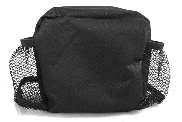 Handlebar Bag, 2 Cup holder, Black  (Part #16030) - 2