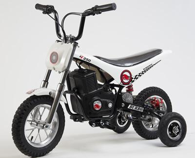 Training Wheels Accessory Kit for TT series Burromax Minibike Models - 3