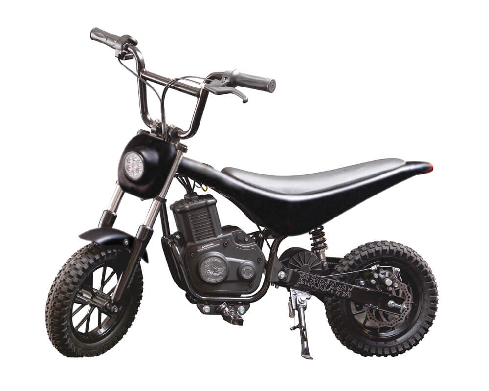 Electric Minibike, TT350R Lithium Ion Powered, (Color: Black)