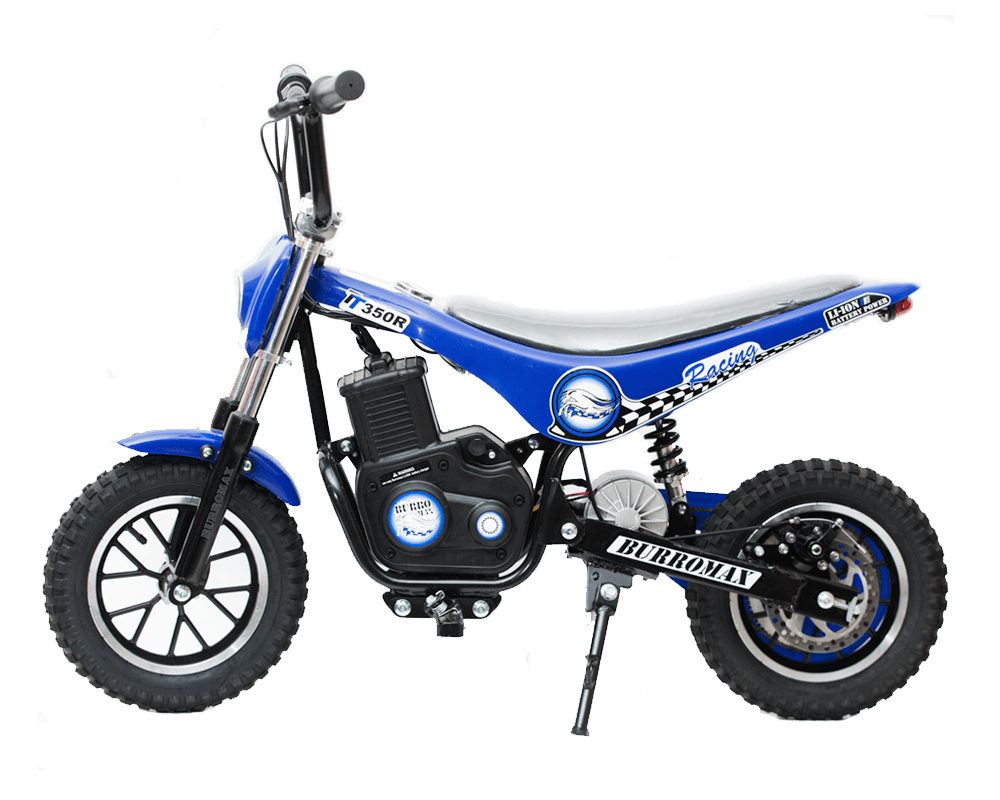 Electric Minibike, TT350R Lithium Ion Powered, (Color: Blue)